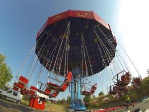 Les chaises volantes Parc d'attraction en Alsace #parcdupetitprince Alsace
