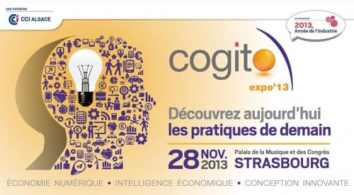 Cogito Expo 2013 à Strasbourg #coex13 - Salon de l'intelligence économique, de l'économie numérique et de la conception innovante en Alsace, dans l'Est de la France