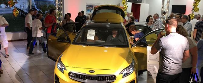 Le lancement du nouveau véhicule KIA XCEED s'est déroulé le 12 septembre dernier en Alsace