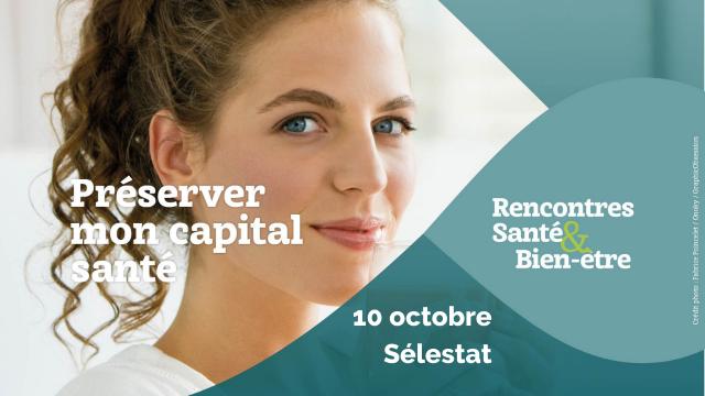 Les Rencontres Santé & Bien-être se dérouleront le 10 octobre à Sélestat : événement gratuit !